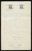 view Wedding certificate of William H. Johnson and Holcha Krake digital asset number 1