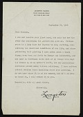 view Langston Hughes, New York, N.Y. letter to William H. Johnson digital asset number 1