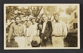 view William H. Johnson and friends in Provincetown digital asset number 1