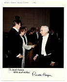view Jacob Kainen with President Ronald Reagan digital asset number 1