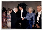 view Jacob Kainen and Mrs. Barbara Bush digital asset number 1