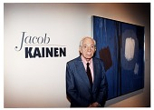 view Jacob Kainen at the opening of his retrospective digital asset number 1