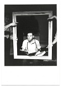view Jacob Kainen reading while sitting in a picture frame digital asset number 1