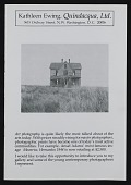 view Kathleen Ewing Gallery records, 1946-2009, bulk 1975-2009 digital asset number 1