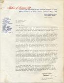 view Edgar Preston Richardson, N.Y. letter to Rockwell Kent, Detroit, Mich. digital asset number 1