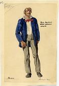 view Rockwell Kent, costume design for Benjamin Britten's <em>Peter Grimes</em> digital asset number 1