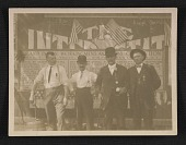 view Four unidentified men photographed in Winona, Minnesota digital asset number 1