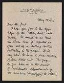 view W. A. Kittredge letter to Rockwell Kent digital asset number 1