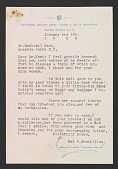 view Hal W. Trovillion letter to Rockwell Kent with enclosed bookplate digital asset number 1