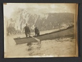 view Rockwell Kent and son in a canoe in Alaska digital asset number 1