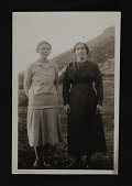 view Photograph of Frances Kent with Rose Ward, Ireland digital asset number 1