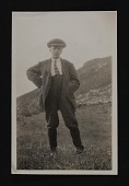 view Photograph of young boy with cap, Ireland digital asset number 1