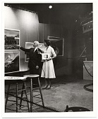 view Rockwell Kent during a television interview digital asset number 1