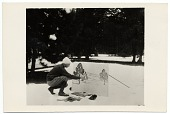 view Rockwell Kent painting outdoors in the snow digital asset number 1