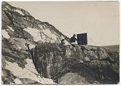 view Rockwell Kent painting on a snowy ledge digital asset number 1