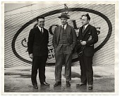 view Rockwell Kent and two unidentified men digital asset number 1