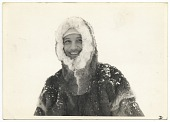 view Rockwell Kent in a hooded fur coat in Greenland digital asset number 1