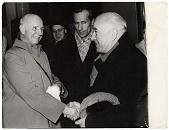 view Rockwell Kent meeting A. Deineka in Moscow digital asset number 1