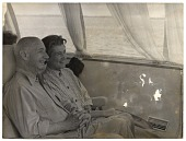 view Rockwell and Sally Kent on a boat while visiting the USSR digital asset number 1