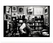 view Harold Hugo in his study digital asset number 1