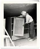 view John Sloan building a bookcase digital asset number 1