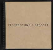 view Portfolio: a chronology of Florence Knoll Bassett from 1932 onward digital asset: cover