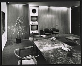 view A storage wall in a CBS office that was designed by Florence Knoll Bassett digital asset number 1
