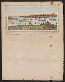 view Print of New York City harbor digital asset number 1