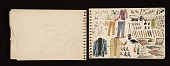 view Adolf Ferdinand Konrad sketchbook of travels to Rome and Egypt digital asset number 1