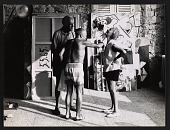 view Samuel Kootz, Pablo Picasso, and Jane Kootz in Picasso's studio digital asset number 1