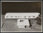 view Vassar Dormitory designed by Marcel Breuer, architect. Muralist: Adolph Gottlieb digital asset number 1