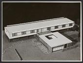 view Vassar Dormitory designed by Marcel Breuer, architect. digital asset number 1