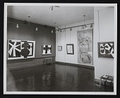view Installation view of <em>Robert Motherwell: Paintings, drawings, and collages</em> at the Kootz Gallery digital asset number 1