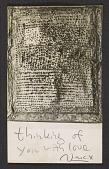 view Mathias Goeritz, Cuernavaca, Mexico letter to Albert Kotin, New York, N.Y. digital asset number 1