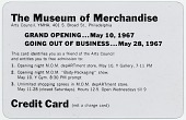 view Museum of Merchandise credit card digital asset number 1