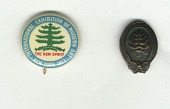 view Armory show button and lapel pin digital asset number 1