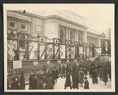 view World War I fund drive in front of the New York Public Library digital asset number 1