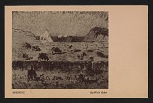 view Armory Show postcard with reproduction of Walt Kuhn's painting <em>Morning</em> digital asset number 1
