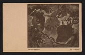 view Armory Show postcard with reproduction of Wassily Kandinsky's painting <em>Improvisation</em> digital asset number 1