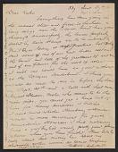 view Arthur B. Davies letter to Walt Kuhn digital asset number 1