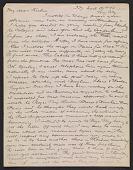 view Arthur B. (Arthur Bowen) Davies letter to Walt Kuhn digital asset number 1