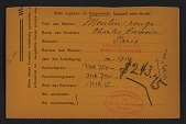 view Armory Show entry form for Charles Camoin's painting <em>Moulin Rouge</em> digital asset number 1