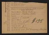 view Armory Show entry form for Walter Pach's painting <em>Girls bathing</em> digital asset number 1