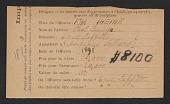 view Armory Show entry form for Paul Gauguin's painting <em>Faa Iheihe</em> digital asset number 1