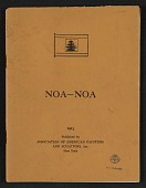 view Extracts from <em>Noa-Noa</em> digital asset: cover