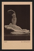 view Armory show postcard with reproduction of a sculpture by J. Mowbray-Clarke digital asset number 1
