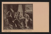 view Armory show postcard with reproduction of William Glackens' painting <em>Family group</em> digital asset number 1