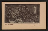 view Armory show postcard with reproduction of Arthur B. Davies' painting <em>Birth of tragedy</em> digital asset number 1