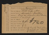 view Armory Show entry form for Marsden Hartley's painting <em>Still life no. 1</em> digital asset number 1