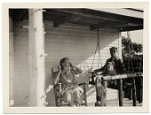 view Walt and Brenda Kuhn on the porch at Ogunquit digital asset number 1